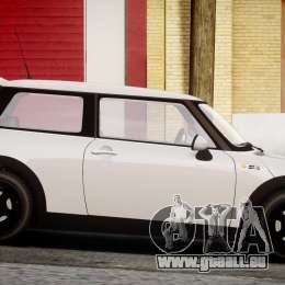 Mini Cooper S 2003 v1.2 für GTA 4 Innenansicht