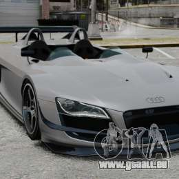 Audi R8 Spider Body Kit Final für GTA 4