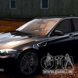 BMW M5 F10 2012 pour GTA 4