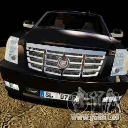 Cadillac Escalade 2007 v3.0 für GTA 4 rechte Ansicht