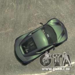 Zenvo ST1 2010 v2.0 pour GTA 4 est un droit