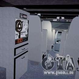 GMC Vandura A-Team Van 1983 pour GTA 4 est une vue de dessous