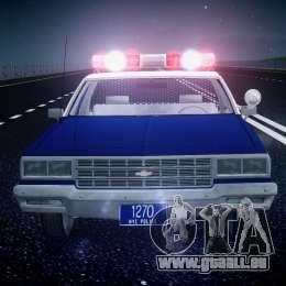 Chevrolet Impala Police 1983 [Final] pour le moteur de GTA 4