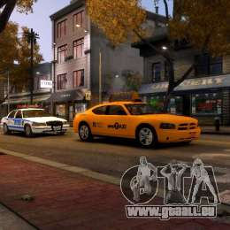 Dodge Charger NYC Taxi V.1.8 für GTA 4 obere Ansicht