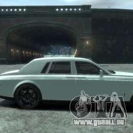 Rolls-Royce Phantom für GTA 4 Rückansicht