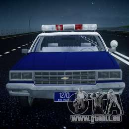 Chevrolet Impala Police 1983 [Final] pour GTA 4 Salon