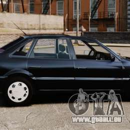 Volkswagen Passat B4 für GTA 4 linke Ansicht