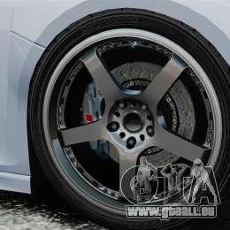 Audi R8 Spider Body Kit Final pour GTA 4 est un côté