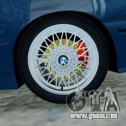 BMW M3 E30 FINAL für GTA 4 Rückansicht