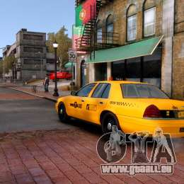 Ford Crown Victoria NYC Taxi 2013 für GTA 4 linke Ansicht