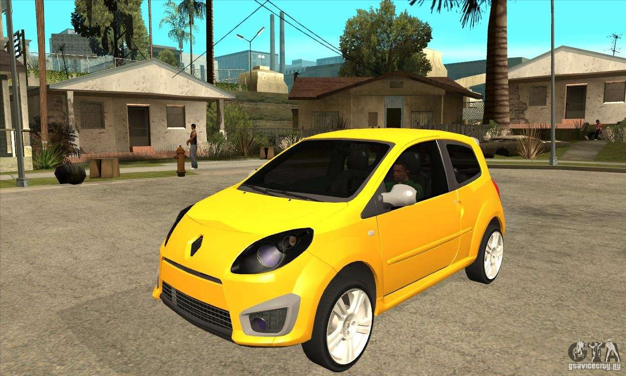 renault twingo rs 2009 pour gta san andreas. Black Bedroom Furniture Sets. Home Design Ideas