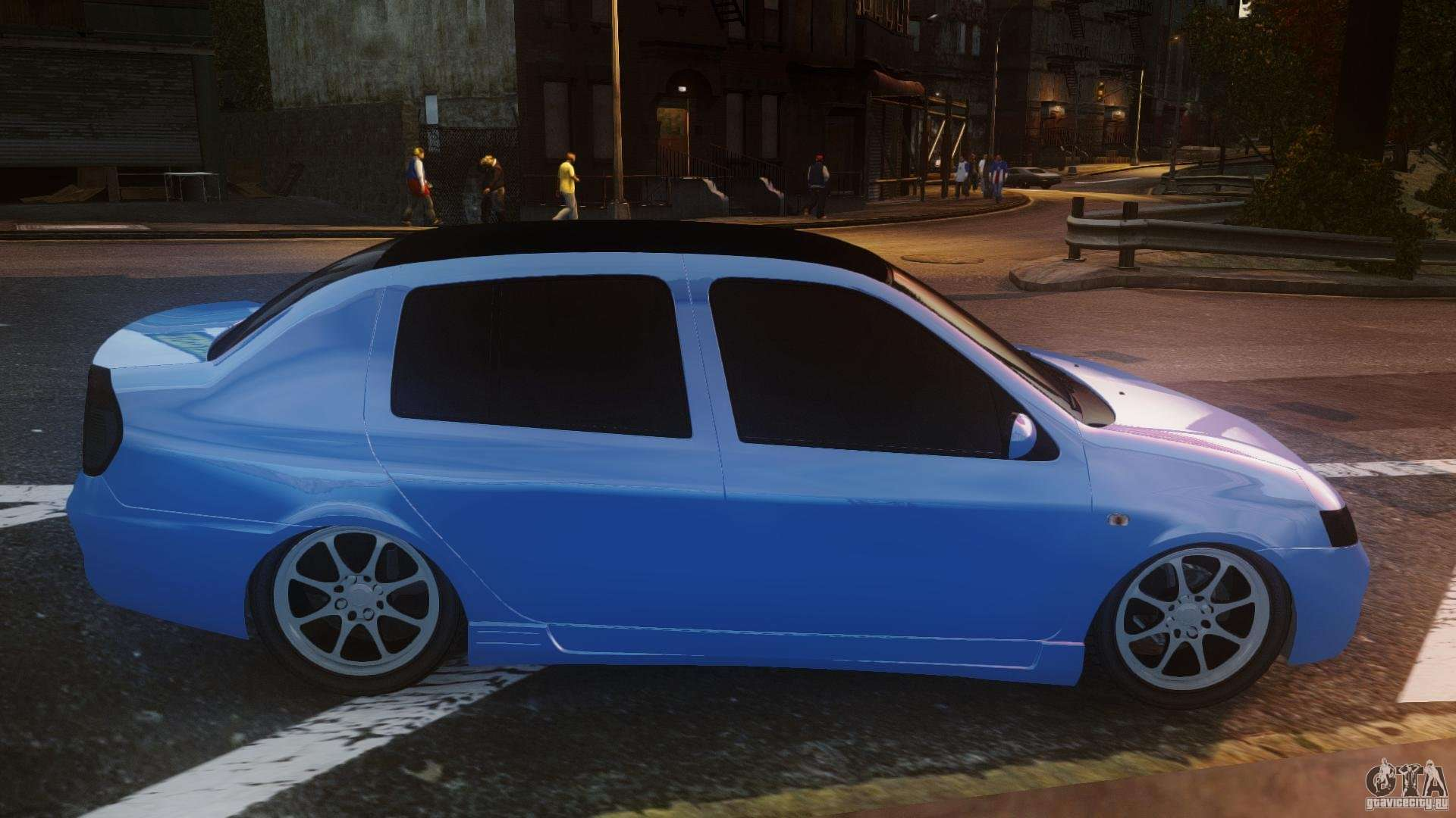 renault clio tuning pour gta 4. Black Bedroom Furniture Sets. Home Design Ideas