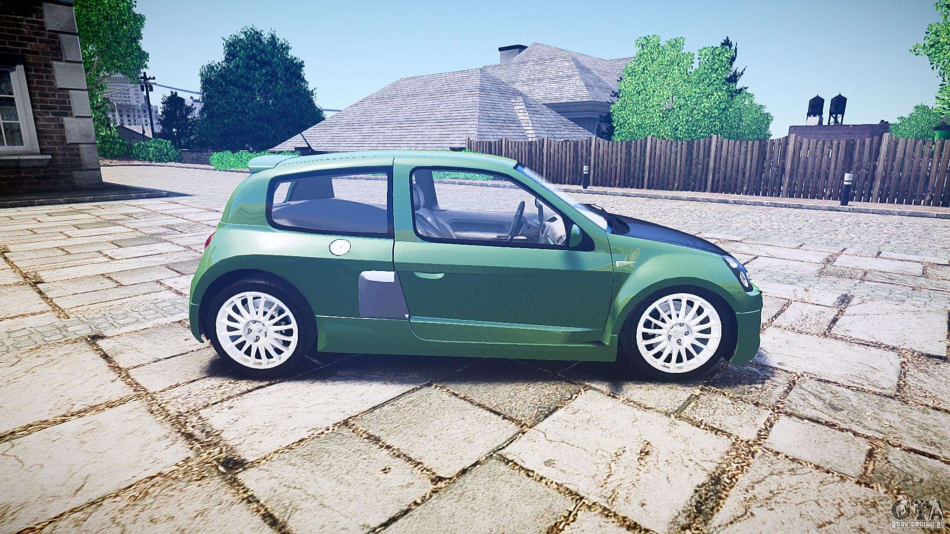 renault clio v6 pour gta 4. Black Bedroom Furniture Sets. Home Design Ideas