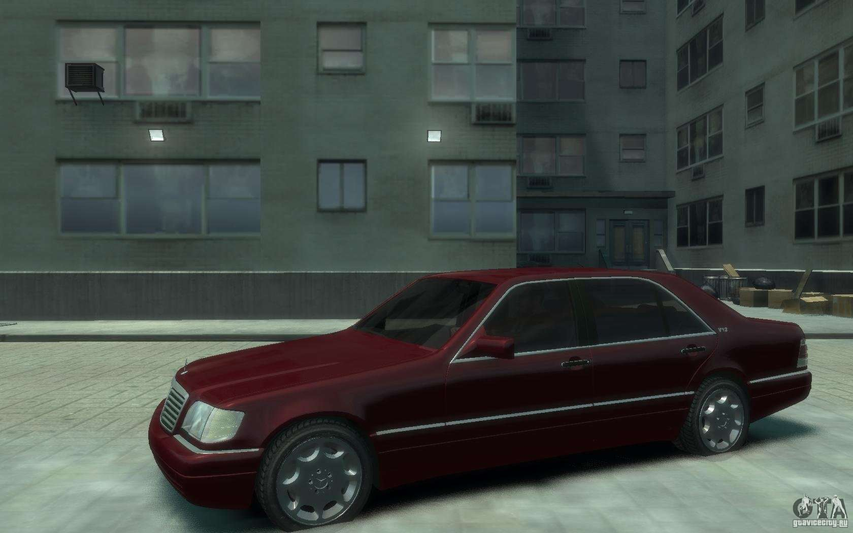 Mercedes benz s600 w140 pour gta 4 for Mercedes benz s600 amg 2010