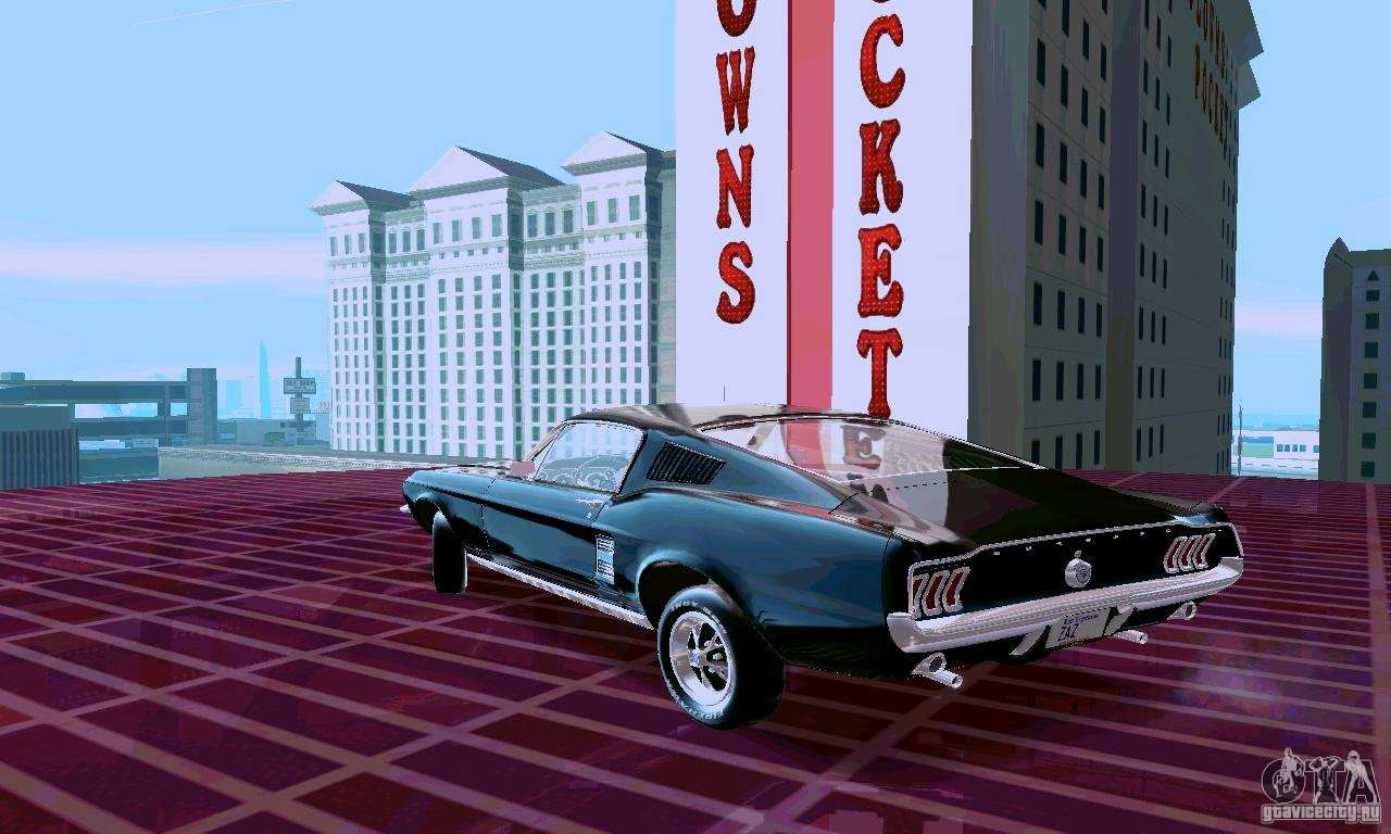 Ford mustang 1967 pour gta san andreas