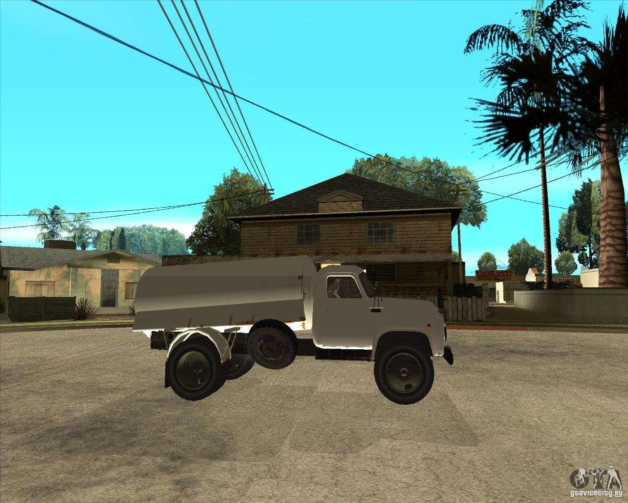 camion citerne de gaz 52 pour gta san andreas. Black Bedroom Furniture Sets. Home Design Ideas