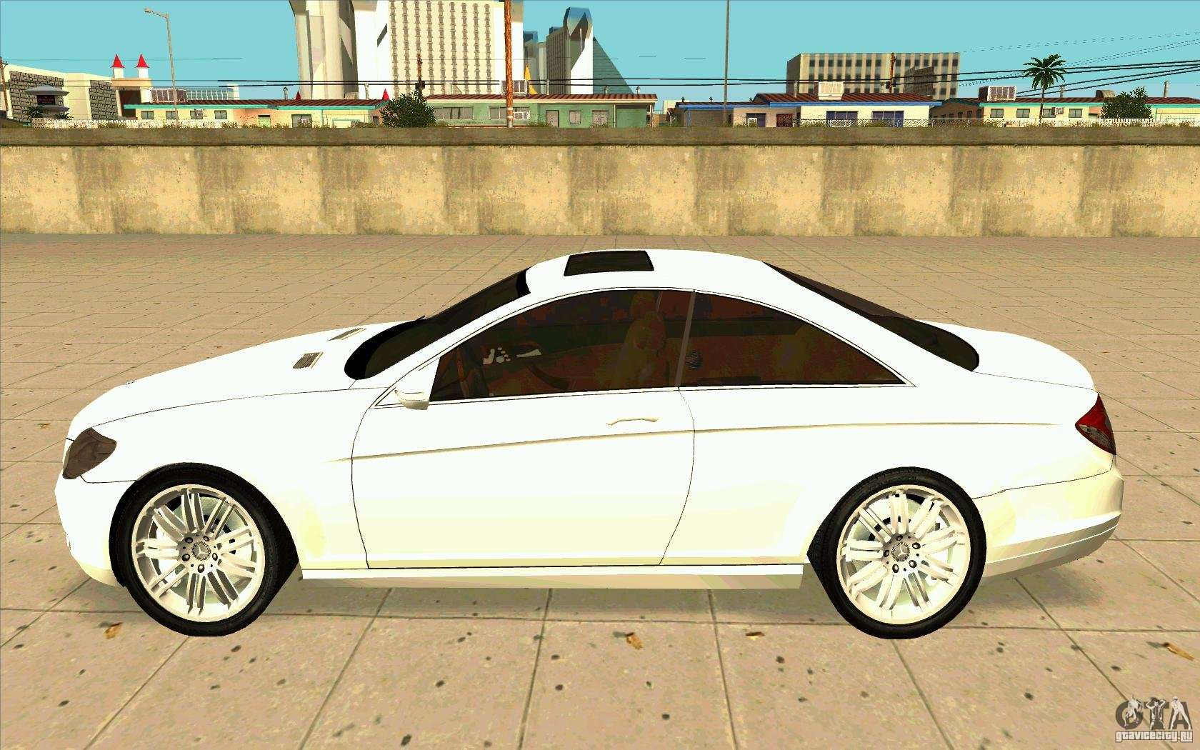 mercedes benz cl 500 f r gta san andreas. Black Bedroom Furniture Sets. Home Design Ideas