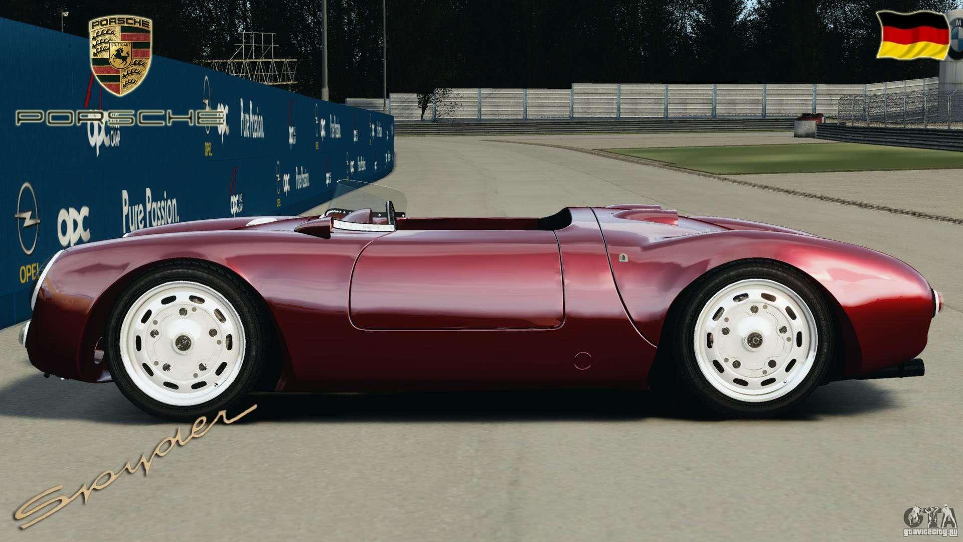 Porsche 550 A Spyder 1956 V1 0 F 252 R Gta 4