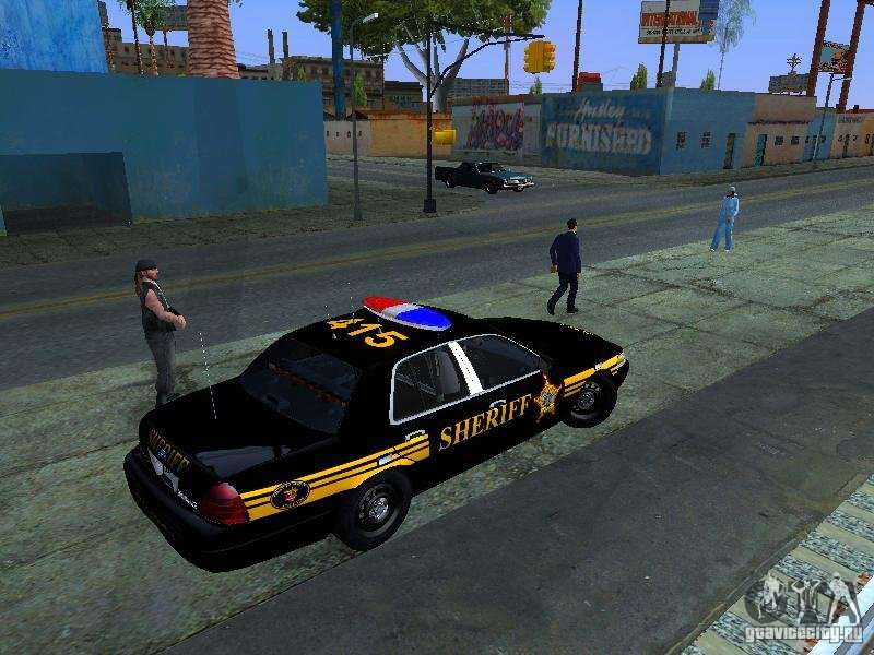 Ford Crown Victoria Erie County Sheriffs Office Pour Gta