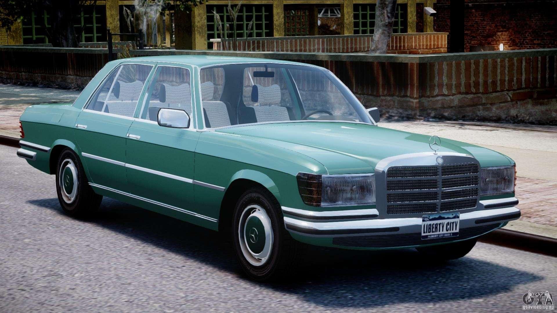 Mercedes benz 280se w116 f r gta 4 for Mercedes benz delaware
