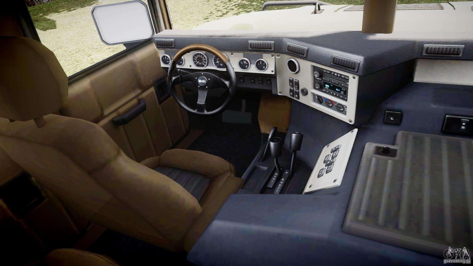 Hummer H1 Original pour GTA 4