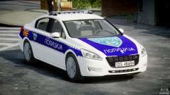 Peugeot 508 Macedonian Police [ELS]