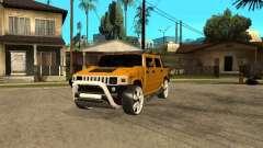 Hummer H2 4x4 diesel für GTA San Andreas
