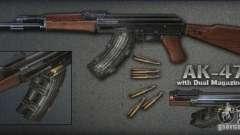 [Point Blank] AK47 ext pour GTA San Andreas