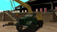 GAZ 51 grue mobile