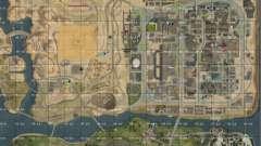 Karte von San Andreas mit Update v7 für GTA San Andreas