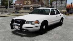 Ford Crown Victoria Unmarked ELS für GTA 4