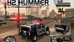 AMG H2 HUMMER SUV SAPD Police für GTA San Andreas