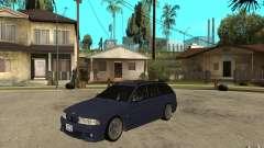 BMW M5 E39 530tdi Touring pour GTA San Andreas