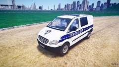 Mercedes Benz Viano Croatian police [ELS]