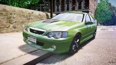 Ford Falcon XR8 2007 Rim 1 für GTA 4
