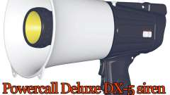 Powercall Sirene Deluxe DX-5