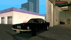 Shelby Mustang GT500 1967 pour GTA San Andreas
