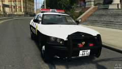 Dodge Charger Japanese Police [ELS] pour GTA 4