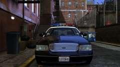 Ford Crown Victoria LAPD v1.1 [ELS] pour GTA 4