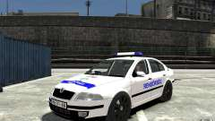 Skoda Octavia 2005 Hungarian Police