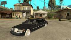 Lincoln Towncar limo 2003 pour GTA San Andreas