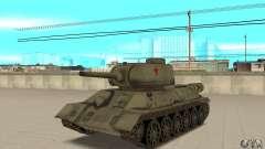 Réservoir T-34-85
