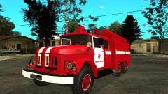 Incendie ZIL 131 pour GTA San Andreas
