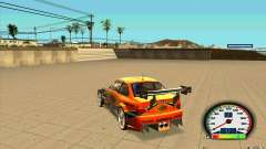 New Speedometer with transmissions für GTA San Andreas