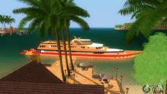 Korteza yacht de Vice City