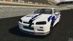 Nissan Skyline R-34 Atomic
