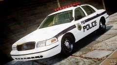 Ford Crown Victoria 2003 FBI Police V2.0 [ELS] für GTA 4