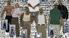 V0.2 peaux civile PCH pour GTA San Andreas