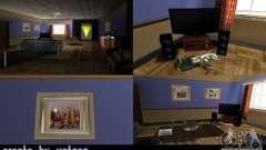 La nouvelle salle dans la maison de CJ