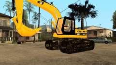 Pelle CAT pour GTA San Andreas
